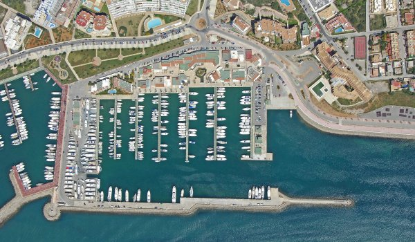 Ports in the city of Ibiza
