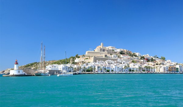 The Mediaeval Ibiza you can visit when you hire a boat