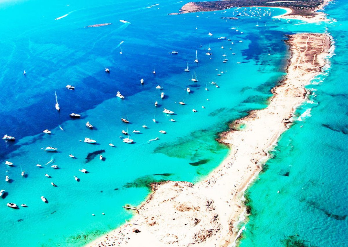 playa de ses illetes formentera spain map